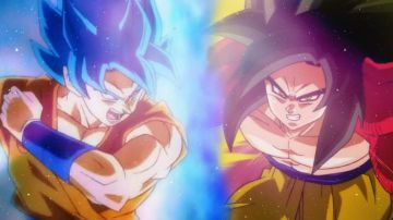 Video chi vincerebbe tra il super saiyan blue di dragon ball super e il ssj4 di gt?