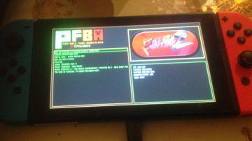 Video un video mostra l'emulatore final burn alpha in azione su nintendo switch