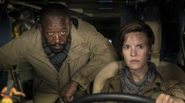 Video morgan jones e la banda di sopravvissuti si mostrano nel teaser di fear the walking dead 4