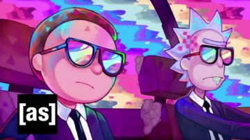 Video rick e morty compaiono in un video musicale ed interpretano i protagonisti di pulp fiction