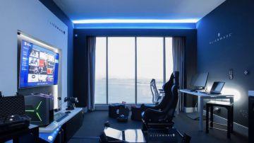 Video alienware ha inaugurato una suite extra lusso per gamer all'hilton di panama