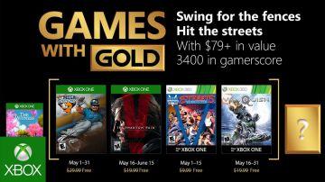 Video games with gold: trapelano in anticipo i giochi gratis di maggio 2018