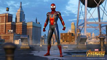 Video spider-man: svelata ufficialmente la iron spider suit, la seconda skin del preordine