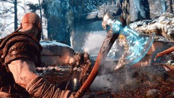 Video god of war: il director cory barlog commenta il combattimento con il primo boss del gioco
