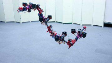 Video l'università di tokyo ha creato il primo drone volante a forma di drago