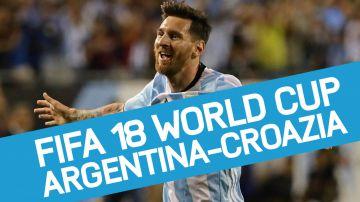 Video fifa 18: argentina vs croazia, il nostro pronostico del match ai mondiali di russia 2018