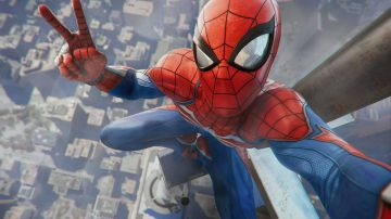 Video spider-man si arrampica sull'empire state building in un nuovo video gameplay