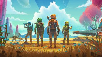 Video no man's sky: hello games pubblica il primo trailer dell'aggiornamento next