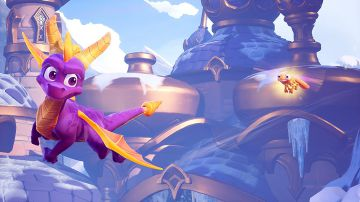 Video spyro reignited trilogy: nuovo video gameplay del livello colossus di spyro 2