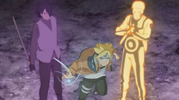 Video boruto: naruto next generations, il video della battaglia dell'episodio 65
