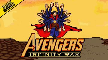 Video avengers: infinity war, ecco la battaglia con thanos in versione 16 bit