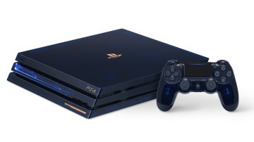 Video diamo un'occhiata all'unboxing della ps4 pro 500 million edition