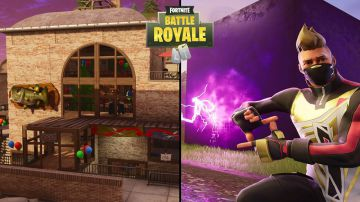 Video fortnite: il cubo distrugge il nuovo edificio di pinnacoli pendenti