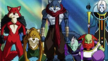 Video super dragon ball heroes, nell'anime vedremo anche il trio dei pericoli dell'universo 9?