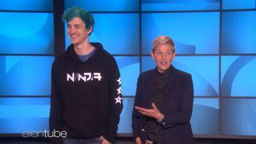 Video ninja è stato ospite del talk show di ellen degeneres, e ovviamente ha giocato a fortnite!