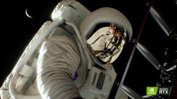 Video nvidia ha ricreato lo sbarco sulla luna con turing, il video completo