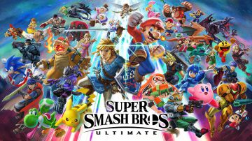 Video super smash bros ultimate: nuovo gameplay nello stage di zafferanopoli