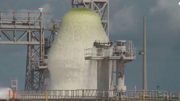 Video test soppressione suono della nasa: un milione di litri d'acqua in un minuto