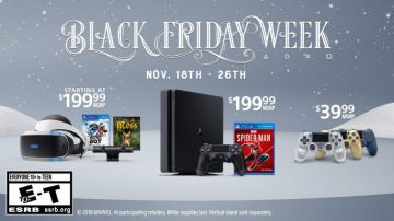 Video playstation black friday: sony annuncia le offerte ps4 e psvr