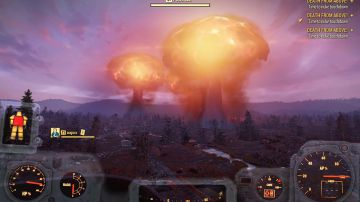 Video fallout 76: crash dei server lanciando tre bombe nucleari in simultanea!