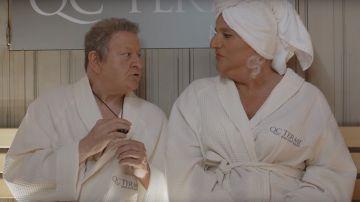 Video amici come prima, il 'dick control' nella prima clip del film con boldi e de sica