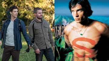 Video elseworlds, part 1 include un omaggio alla serie televisiva di smallville