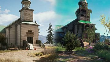Video far cry new dawn: nuova video comparativa con le location di far cry 5