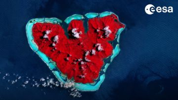 Video l'esa fotografa 'il cuore del cambiamento climatico', letteralmente
