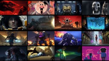 Video love death & robots: ecco il folle trailer della serie animata adulta targata netflix