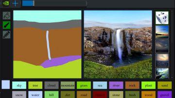 Video questo tool di nvidia trasforma i vostri scarabocchi in paesaggi mozzafiato