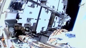Video nasa: iniziata sulla iss la prima passeggiata spaziale dell'anno