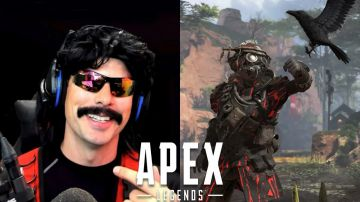 Video apex legends: dr. disrespect ne pronostica la fine prematura stile h1z1