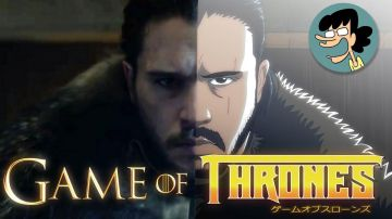 Video game of thrones: un fan trasforma la serie tv in un anime!