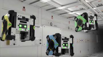 Video nasa, i tre robot volanti astrobees appena arrivati sulla stazione spaziale internazionale