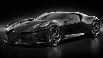 Video bugatti la voiture noire si mostra dal vivo a villa d'este 2019