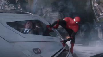 Video scene inedite nel nuovo, adrenalinico spot tv dell'atteso spider-man: far frome home