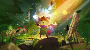 Video tunic: una volpe sulle orme di link di the legend of zelda nella nostra video anteprima
