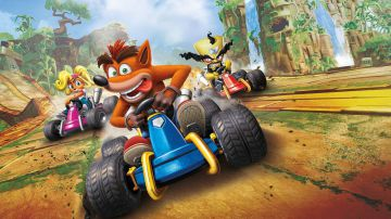 Video crash team racing nitro fueled: grafica e tempi di caricamento a confronto su ps4 e switch