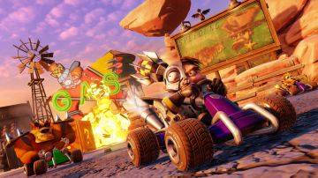 Video crash team racing nitro fueled: risoluzione e frame rate su ps4, xbox one e switch
