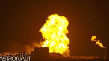 Video spacex: a fuoco il veicolo starhopper durante un test, il video