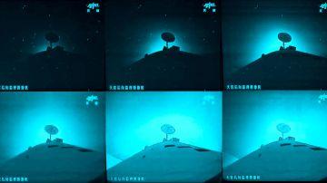 Video il video della stazione spaziale tiangong-2 che brucia nell'atmosfera terrestre