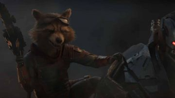 Video disponibile una scena tagliata da avengers: endgame con rocket e thor