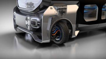 Video protean presenta un sistema di sterzata elettrica a 360 gradi: il video