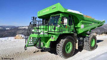 Video il veicolo elettrico più grande al mondo è l'elektro dumper: il video