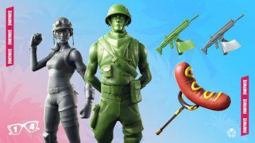 Video fortnite: epic modifica i soldati giocattolo, non saranno più invisibili nell'erba