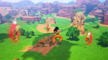 Video nuovi video di gameplay per dragon ball z: kakarot, ecco la battaglia tra gohan e cell