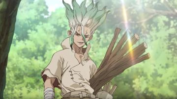 Video dr. stone: l'episodio 8 dell'anime si mostra in un nuovo teaser trailer