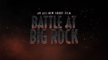 Video jurassic world: onilne il corto ufficiale 'battle at big rock'