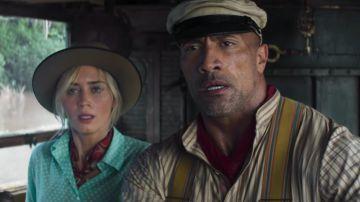 Video the rock ed emily blunt nel primo avvincente trailer ufficiale di jungle cruise
