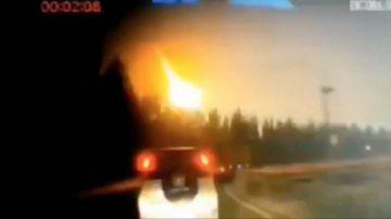 Video una meteora in cina ha illuminato il cielo notturno del paese